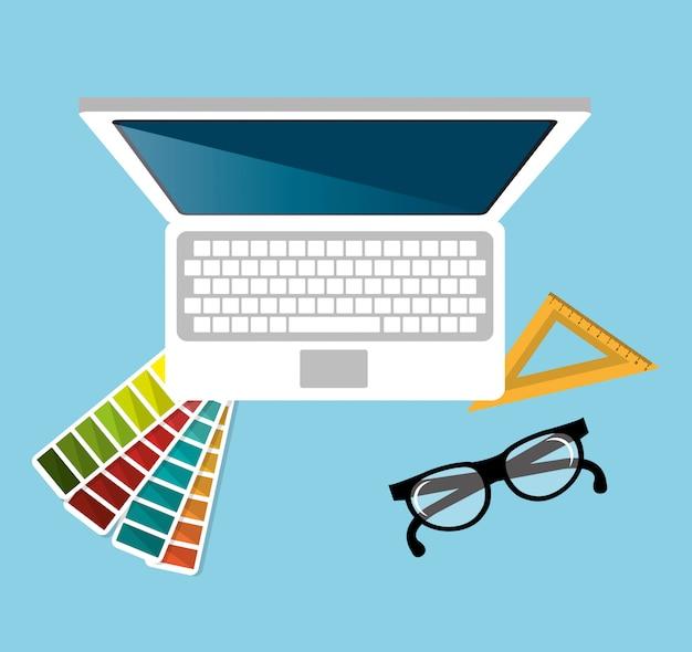 コンピューターwebデザイン