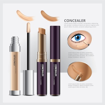 Concealer cosmetic package