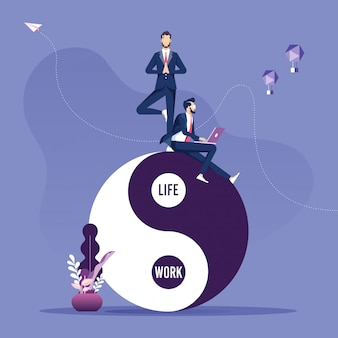 仕事と生活のバランスに関する概念