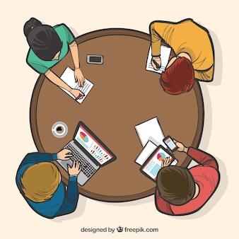 チームワーク、円卓会議の構想