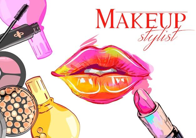 Concept for beauty salon
