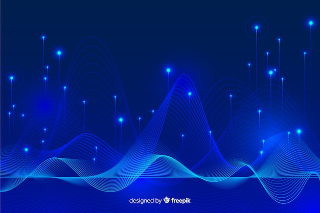 Concept big data abstract background