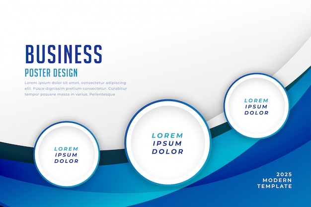 Concept business background template design