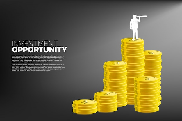 Concept of business investment opportunity
