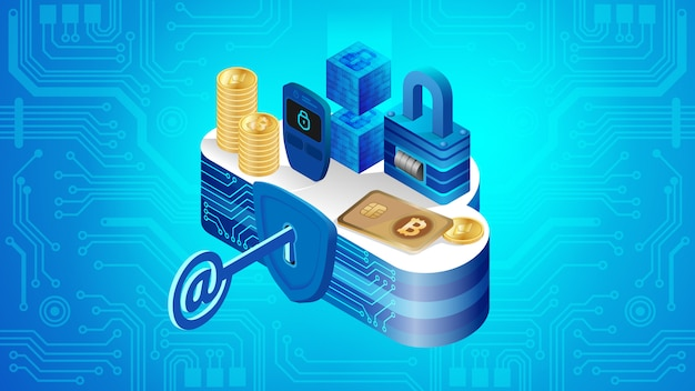 Concept of cloud financial system security