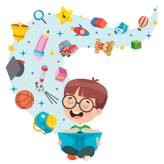 Concept design for children education