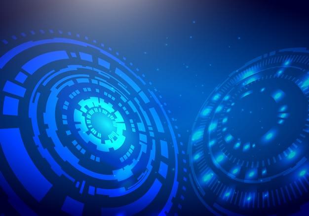 Concept digital technology background