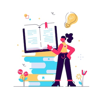 概念の遠隔学習、教育、ビジネス目標、アイデア、オンラインコース、教育、webページ、バナー、プレゼンテーション、ソーシャルメディアのオンラインブック。イラスト、ライブラリ。