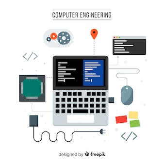 Concept of flat computer engineering
