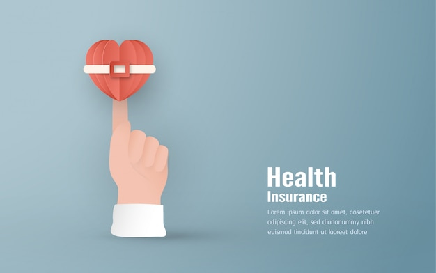 Concept of health insurance.