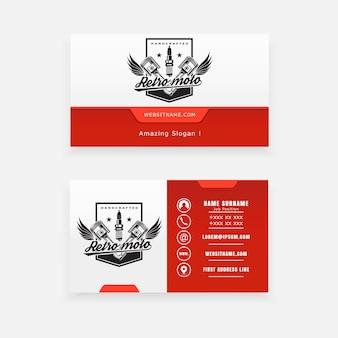 Поршень с логотипом concept и крыльями