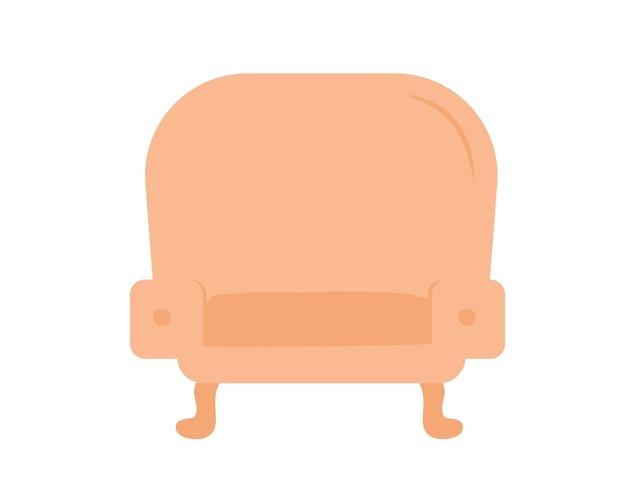 家の快適なラウンジチェアのデザインのコンセプト。大変な一日のウェブバナーの後、椅子でリラックスしてください。