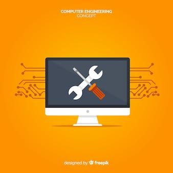Концепция плоской компьютерной техники