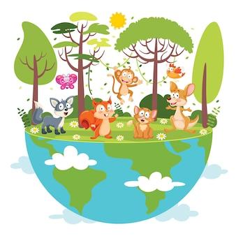 Концепция дня матери-земли