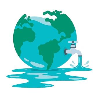 世界水の日の概念