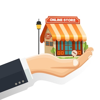 The concept online store