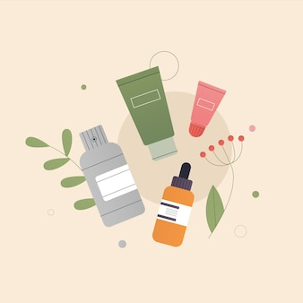 The concept of organic natural cosmetics composition