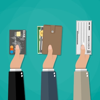Concept of payment options