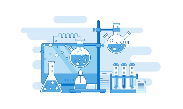 Concept for science, medicine and knowledge