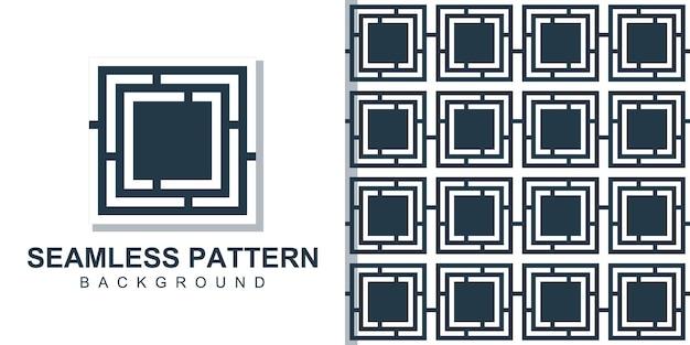 사각형 모양으로 개념 완벽 한 패턴 배경