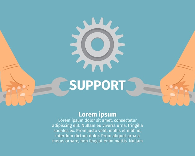 Concept of technical support