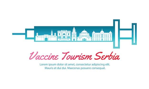 Концепт-трэвел-искусство вакцинного туризма сербии