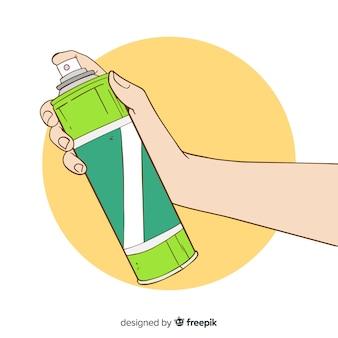 Концепция ручного спрея москита
