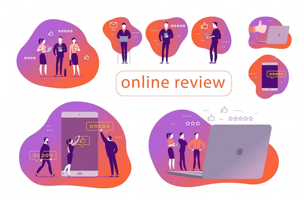 Concepts for online review