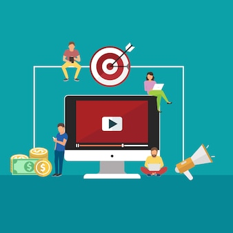 Concepts for video and digital marketing