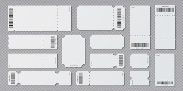 コンサート映画館と搭乗空白の白いチケット