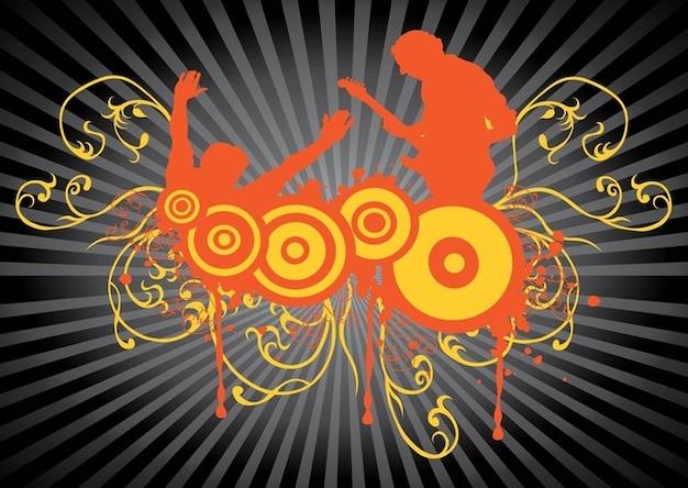 Concert vector art