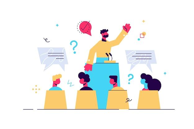 Конференц-встреча с презентационной лекцией и выступлением