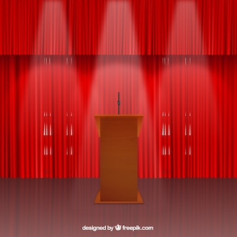 Conference stage