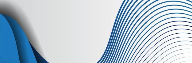 Векторный шаблон конференции. абстрактный пунктирный синий фон для приглашения на ит-конференцию, деловую встречу. баннер для анонса в социальных сетях