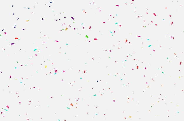 紙吹雪のお祝いカーニバルリボン。