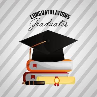 おめでとう卒業背景