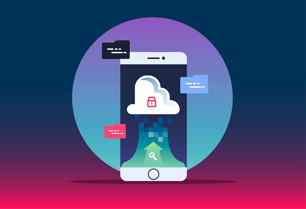 Connect devices to cloud.   for website with smartphone o