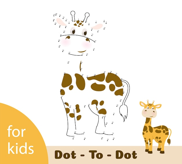 Connect dots worksheet for education