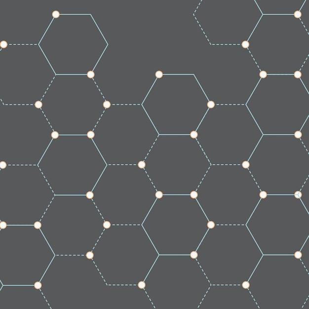接続ドットパターン