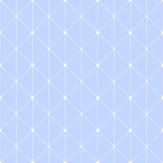 Connected dots seamless pattern