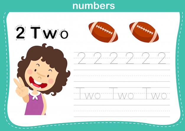 Connecting dot and printable numbers exercise for preschool and kindergarten kids illustration,