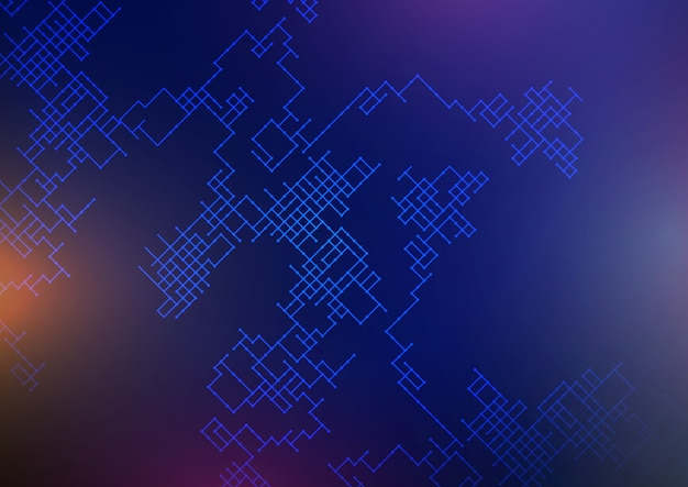 Connections background with abstract lattice design