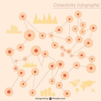 接続のグラフィックス無料のベクトル