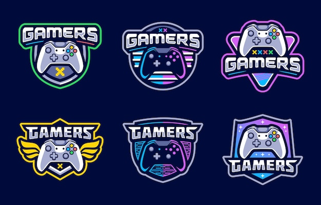 Console gaming sport logo