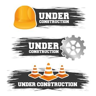 Under construction barrier design