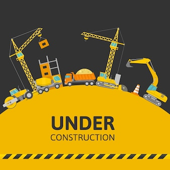 Under construction composition
