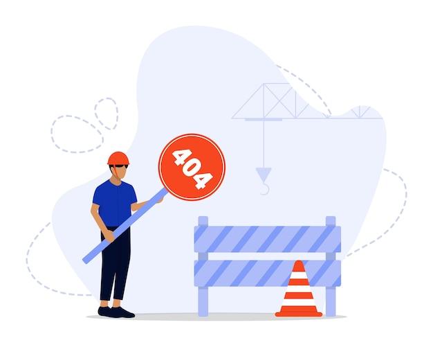 Under construction concept illustration Premium Vector