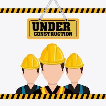 Under construction design.
