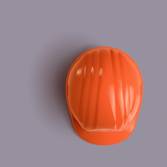 Construction helmet up