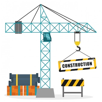 Construction machinary design.